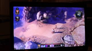 HP ZBook 17 Quadro k3100m Gaming review -  Divinity Original Sin