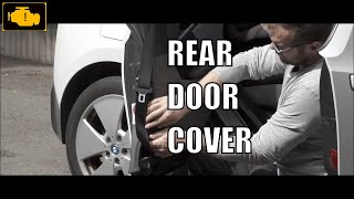 Rear Door Panel Cover - Bmw i3 - How To Remove Unscrew Inside door panel - Boczek drzwi i3