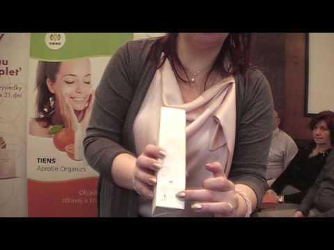 Organická kozmetika Aprotie Organics prezentuje Veronika Hamšíková, 7 hviezd