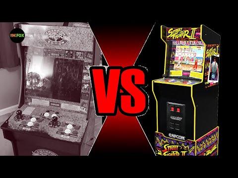 Cab Rehab 2: 1st Gen Arcade1up VS Legacy Cab from 19kfox