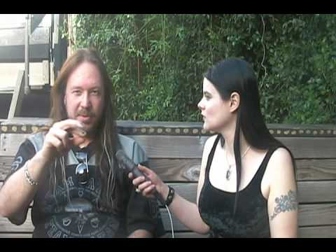 Part 1 Joacim Cans of Hammerfall interview with Colette Claire March 2010