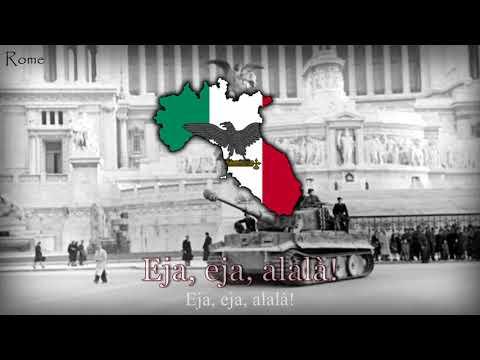 National Anthem of The Italian Social Republic [1943-1945] -
