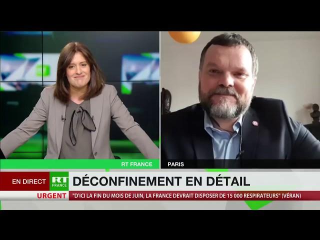 Georges Kuzmanovic : « Ce plan de déconfinement s'annonce très très mal »