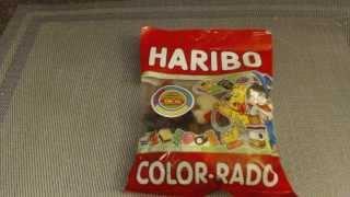 アメリカのお菓子レビュー#43 Haribo COLOR RADO