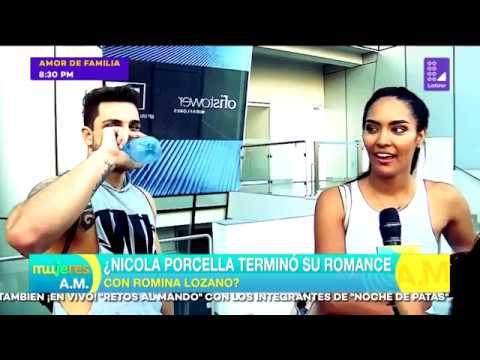 Nicola Porcella terminó su romance con Romina Lozano