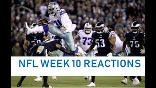 The Council Sports Talk: NFL WEEK 10 REACTIONS SHOW