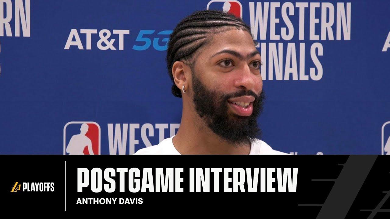Lakers Postgame: Anthony Davis (9/24/20)