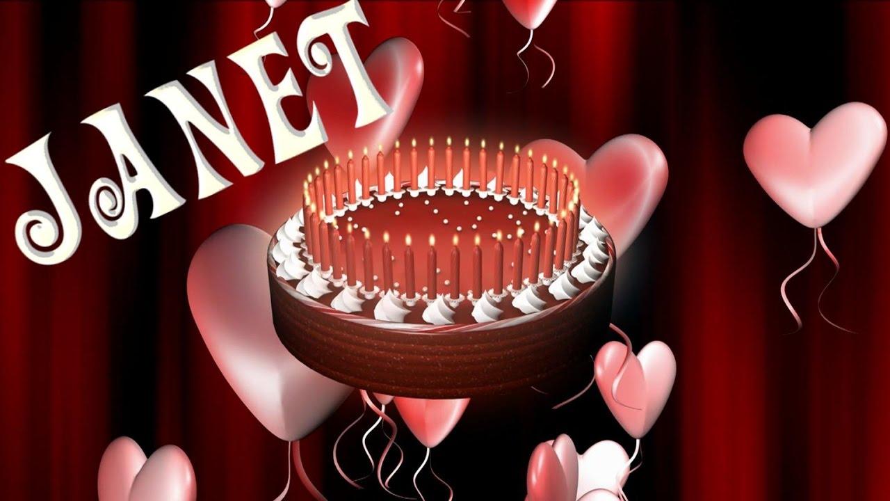 Happy Birthday Janet Song Youtube