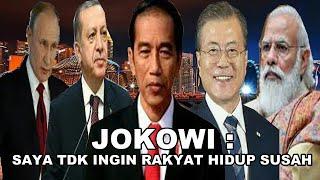 JOKOWI : Saya Pernah Hidup Susah & Saya tidak ingin Rakyat Indonesia Mengalami hal yang saya alami
