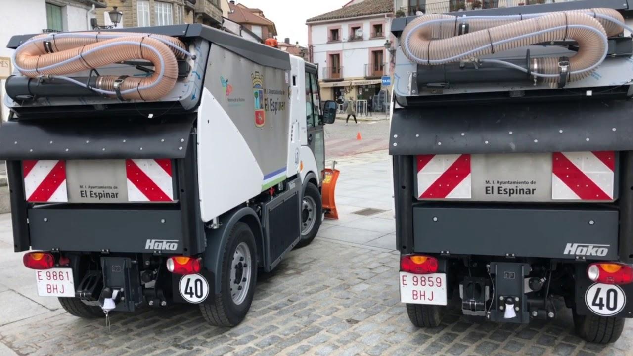 Presentación de maquinaria y vehículos del @AyuntamientodeElEspinar Segovia