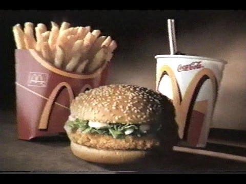 Pub Québec - McDonald's - McMenu98 - 1999