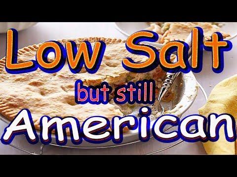 Easy Homemade Low Salt Chicken Pot Pie