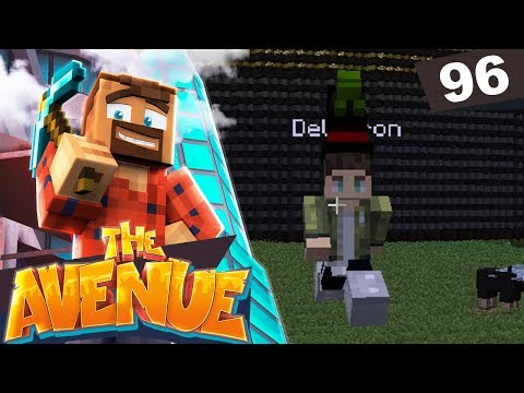 """""""I GAVE HIM 64 DIAMONDS FOR THIS""""   The Avenue Minecraft Modded SMP #96"""