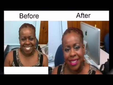Makeup Over 50: Makeup for Black Skin Makeover