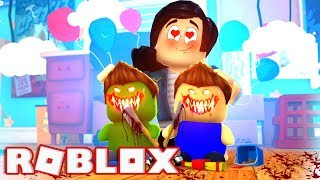 J'ai ADOPTÉD EVIL BABIES en ROBLOX!!