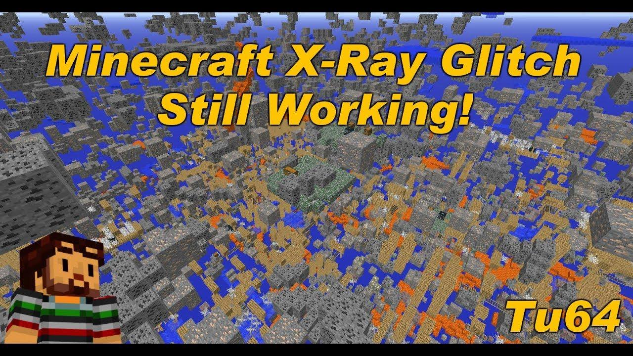 Minecraft Xbox / PS - TU11 - WORKING X-RAY GLITCH - TUTORIAL - (TU11)