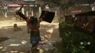RYSE son of rome: gladiator gameplay
