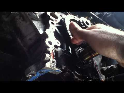 1995 Land Rover Discovery Oil Pump and Timing Chain