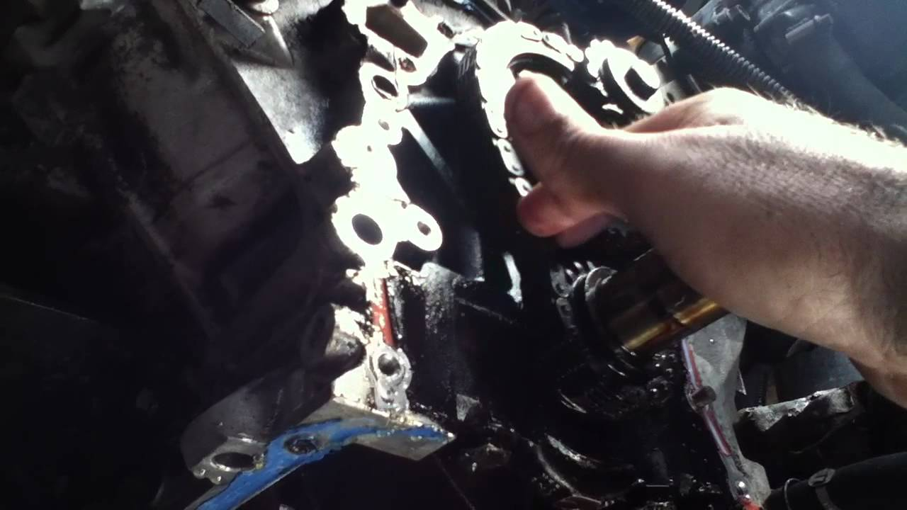 1995 Land Rover Discovery Oil Pump And Timing Chain Youtube