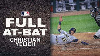 Christian Yelich INSIDE-THE-PARK Home Run to Tie the Game!