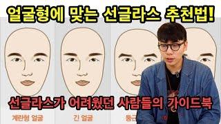 얼굴형에 따라 선글라스…