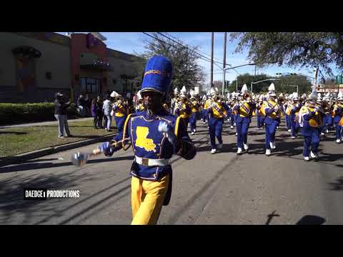 "Louisiana Leadership Institute Marching Band ""SloLove"" @ New Orleans MLK Parade 2019"