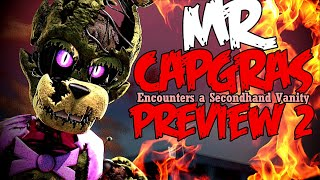 [FNAF/SFM/SOD] Mr. Capgras (Preview 2!)
