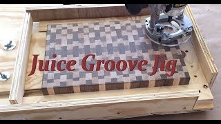 Juice Groove Jig For Cutting Boards