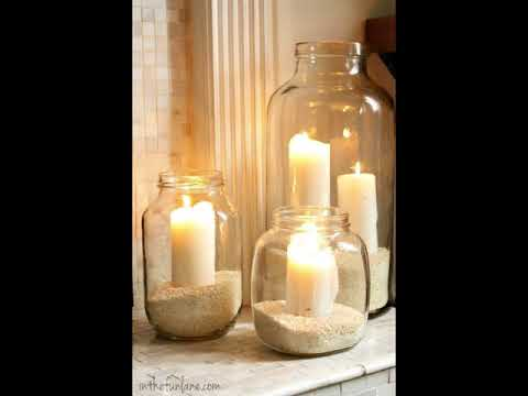 Unique Glass Pillar Candle Holders For Your Decor Ideas