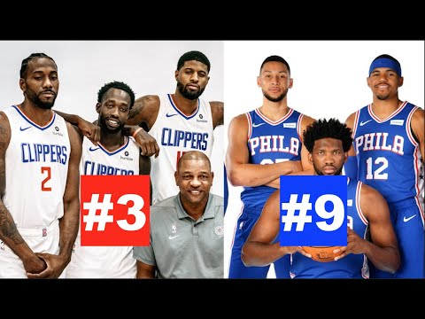 Ranking Every NBA Team's Starting Lineup Right Now