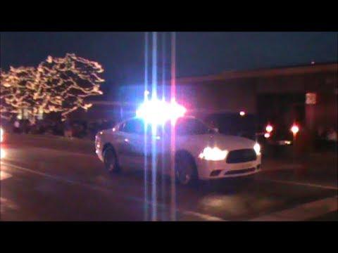 Brownsburg Police and Hendricks County Sheriffs Responding Code 3