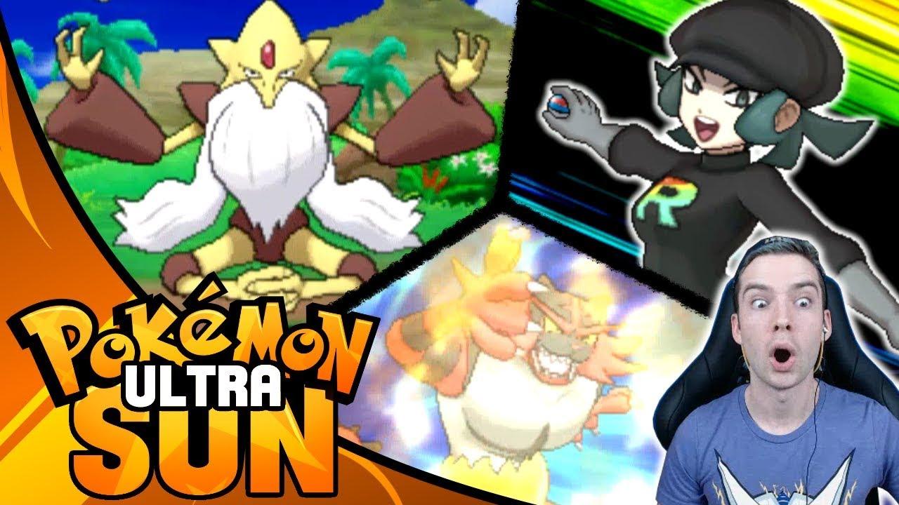 Pokemon Ultra Sun and Ultra Moon 100% Walkthrough - YouTube