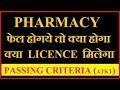 Pharmacy अगर फेल होज़ाये तो  |कितने सब्जेक्ट की ATKT है | Passing Criteria For D pharmacy