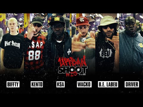 Urban Shoot #25 | BIFFTY - KENTO - KSA - WACKO - B.E. LABEU - DRIVER