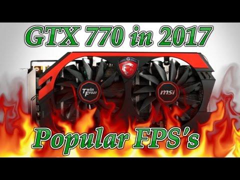 Nvidia GTX 770 benchmark 2017 still worth buying?