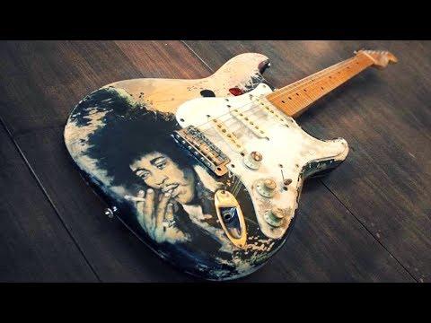 Slow Blues   Hendrix Style Backing Jam Track  (Bb)