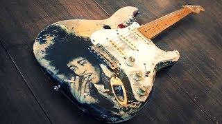 Slow Blues | Hendrix Style Backing Jam Track  (Bb)