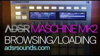 Video Intro to Maschine MK2 - Part 1 - Browsing and Loading download MP3, 3GP, MP4, WEBM, AVI, FLV Desember 2017