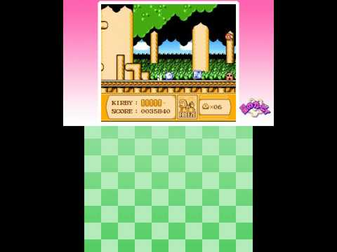 Kirby's Adventure: 3D Classics (3DS) Game Clear! (480p60)