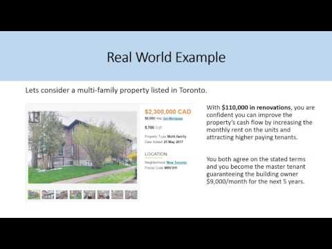 Master Lease Option Agreement Real Estate Method Explained