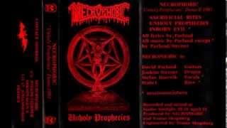NECROPHOBIC - Unholy Prophecies [Full Demo