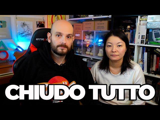 BASTA, CHIUDO TUTTO