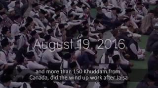 Jalsa UK Waqfe Ardi 2017
