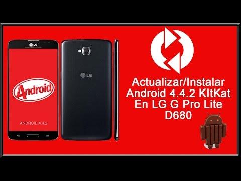 Actualizar LG G Pro Lite a Android 4.4.2 KitKat Review + Instalacion