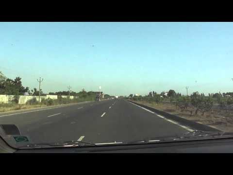 Driving on National Highway 8, Gujarat, India; 18th May 2012