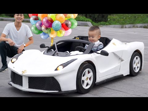 Changing Color of a Ferrari Aperta - A Suprise Christmas Gift for His Son