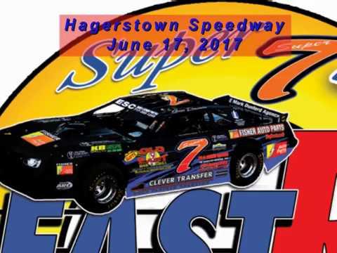 Super 7 at Hagerstown Speedway 061717