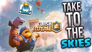 POWÓDŹ NA ARENIE CLASH ROYALE  TAKE TO THE SKIES CHALLENGE