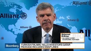 El-Erian Says Turkey Faces 'Difficult Decisions' on Economy