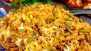 Lubia Biryani | Vegetarian Biryani Recipe | Easy Cook With Atul Kochhar